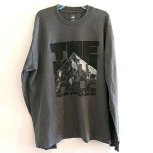 The North Face L/S tee
